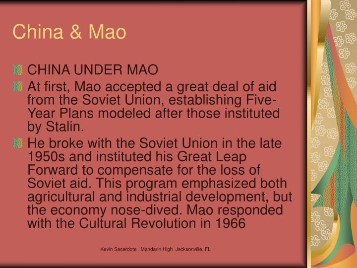 China & Mao