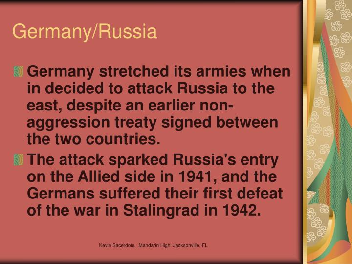 Germany/Russia