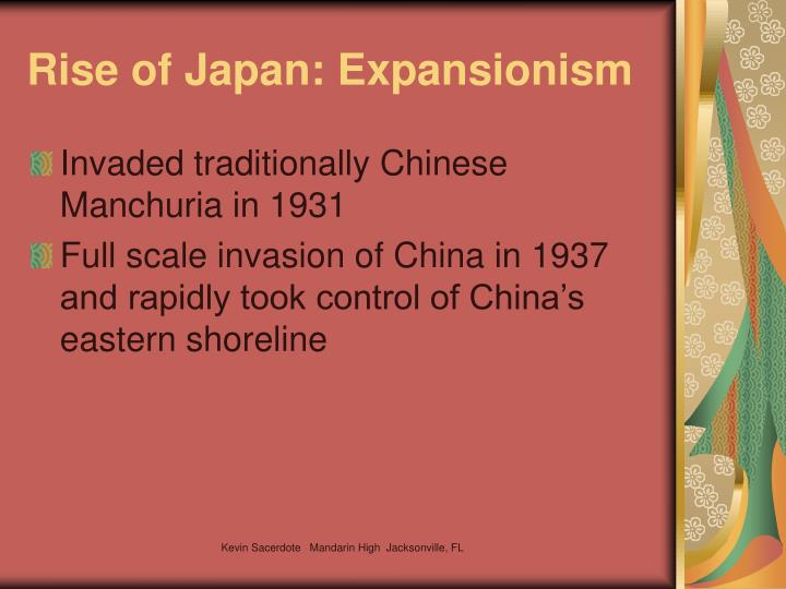 Rise of Japan: Expansionism