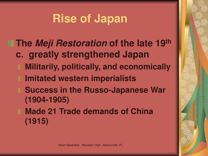 Rise of Japan