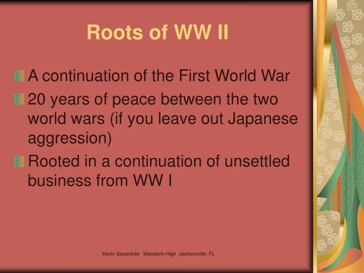 Roots of WW II