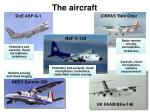 the aircraft
