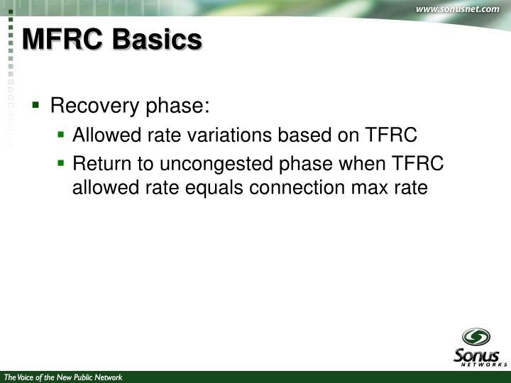 MFRC Basics