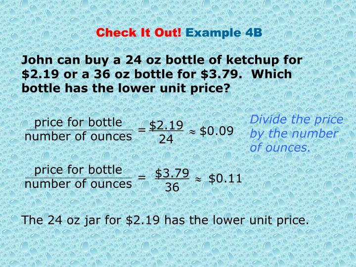 price for bottle
