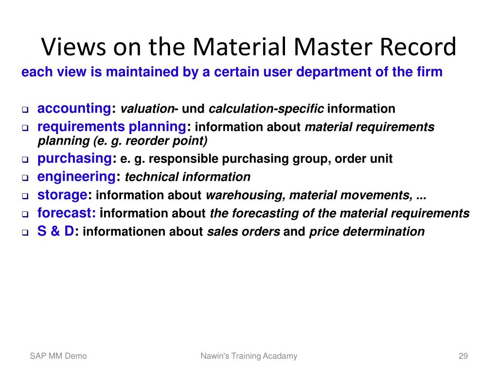 PPT - Introduction SAP R/3 – MM PowerPoint Presentation - ID