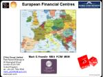 european financial centres
