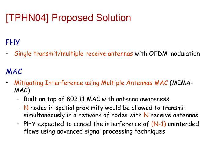 [TPHN04] Proposed Solution