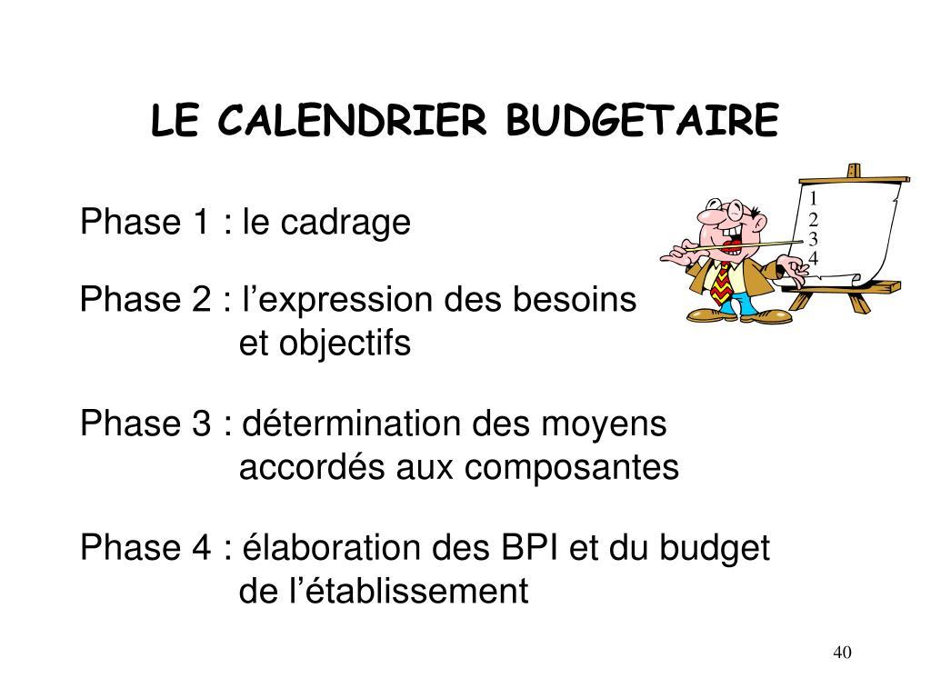 Calendrier Budgetaire.Ppt Le Budget Des Epscp Powerpoint Presentation Id 4334887