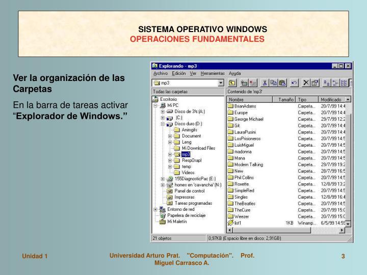 Sistema operativo windows operaciones fundamentales2