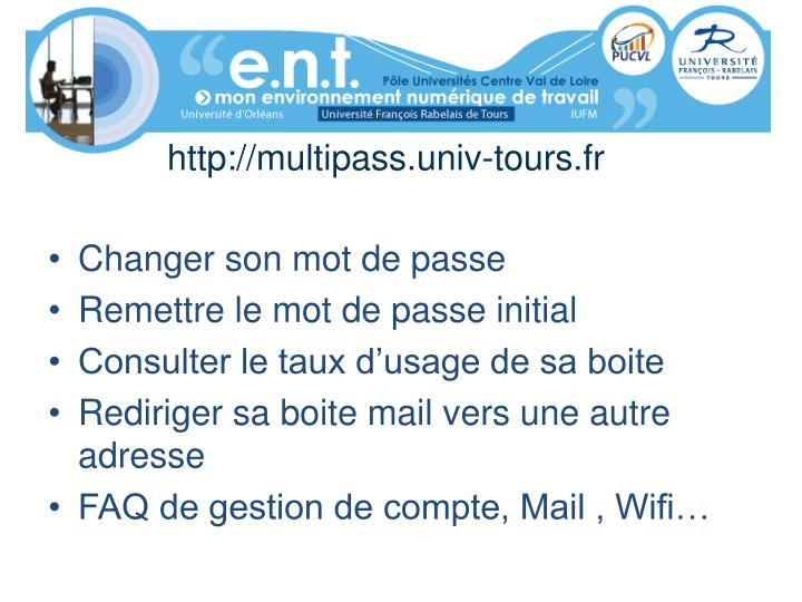 http://multipass.univ-tours.fr