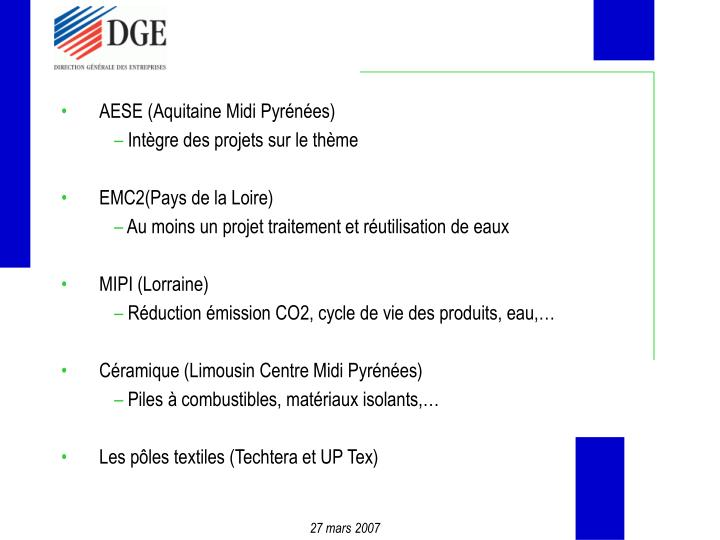 AESE (Aquitaine Midi Pyrénées)