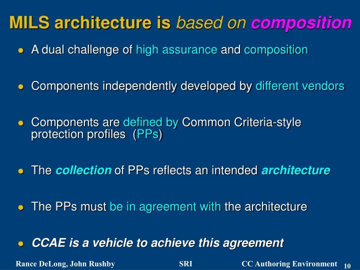 MILS architecture is