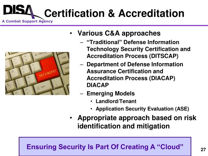 Certification & Accreditation