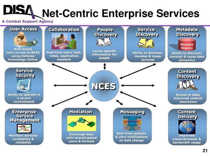 Net-Centric Enterprise Services