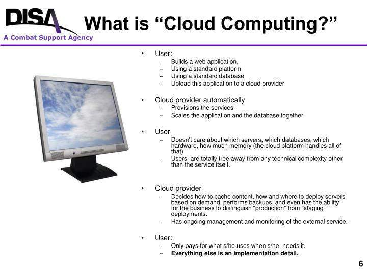 """What is """"Cloud Computing?"""""""