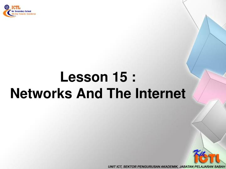 lesson 15 networks and the internet n.