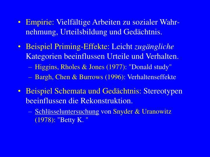 Empirie: