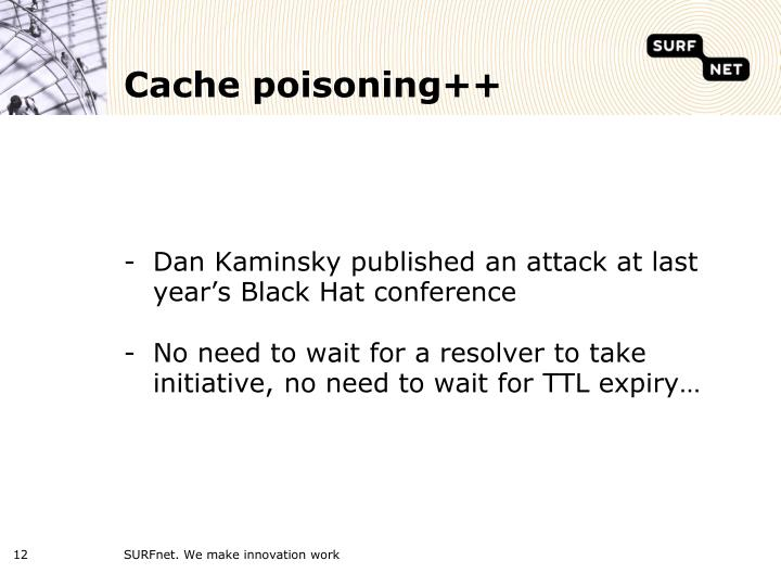 Cache poisoning++