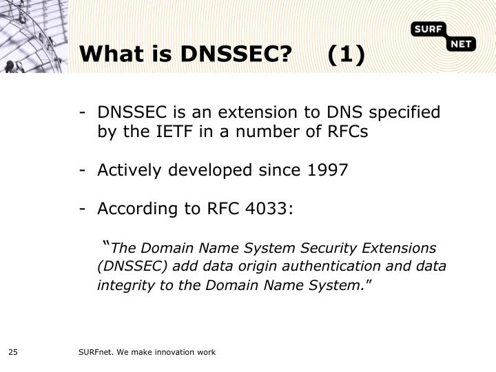 What is DNSSEC?(1)