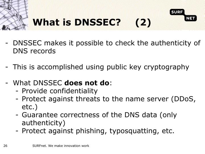 What is DNSSEC?(2)