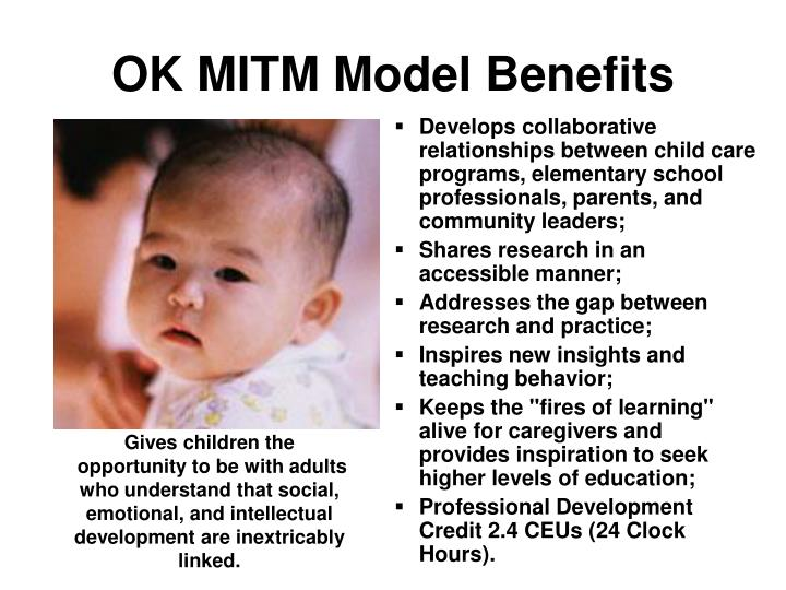 OK MITM Model Benefits