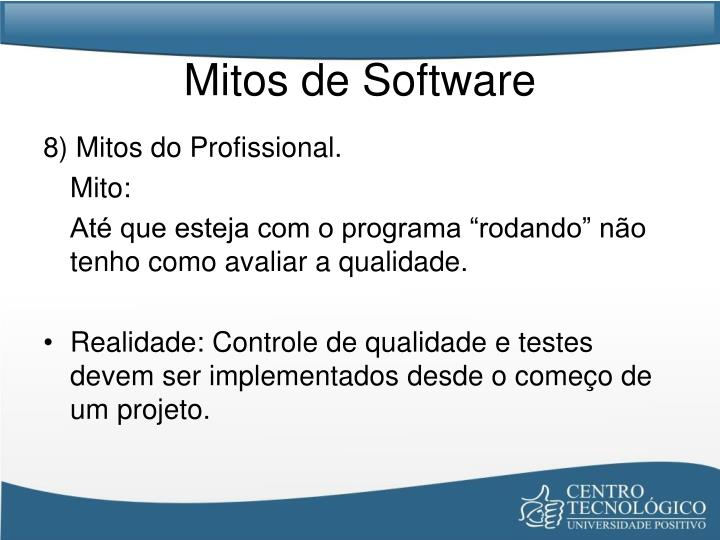 Mitos de Software