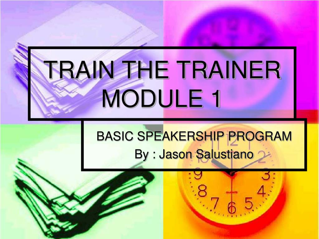 ppt train the trainer module 1 powerpoint presentation id 4337522