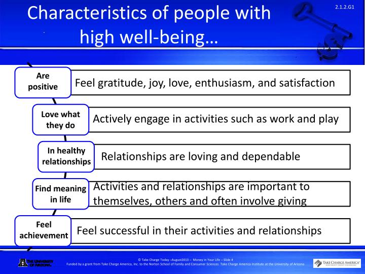 characteristics of people Richard st john each person's path to success may be unique, but there are many commonalities among the world's most successful people.