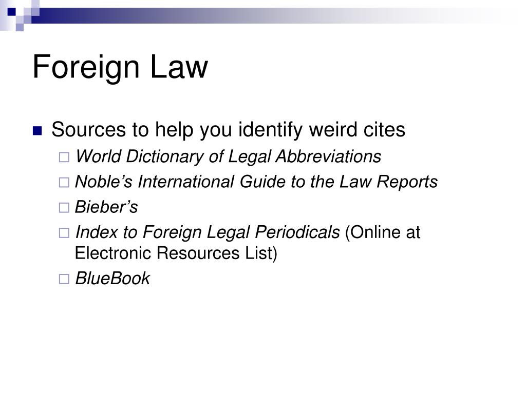 PPT - MJIL: International Law Electronic Resources