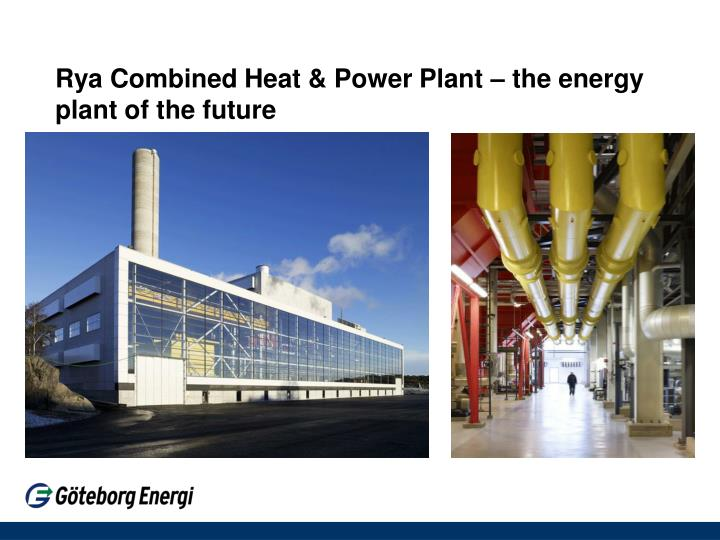 Rya Combined Heat & Power Plant – the energy plant of the future