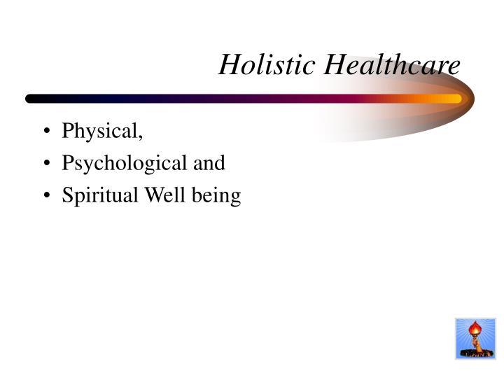 Holistic Healthcare