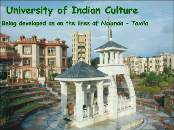 University of Indian Culture