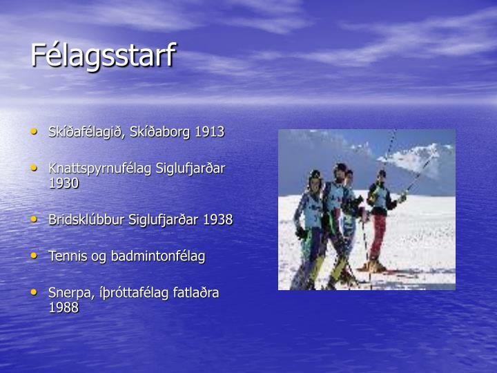 Skíðafélagið, Skíðaborg 1913