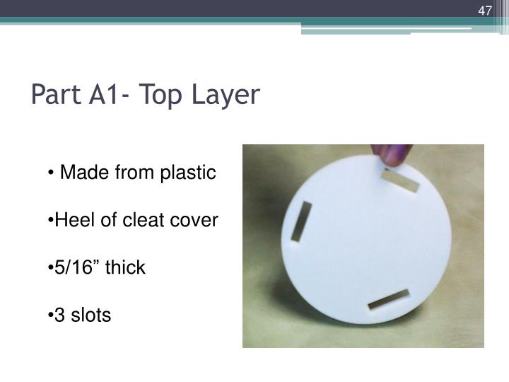 Part A1- Top Layer