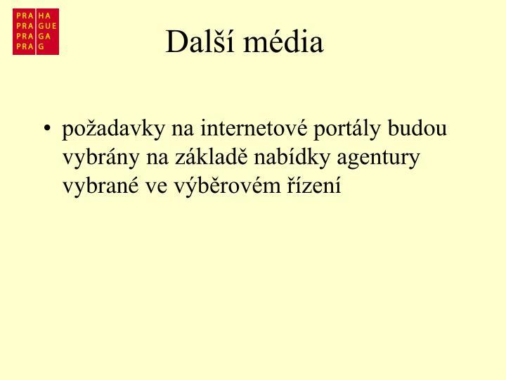 Další média