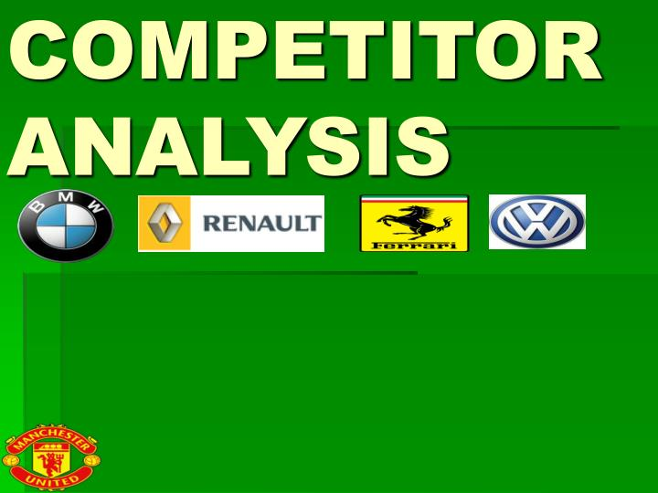 competitor analysis n.
