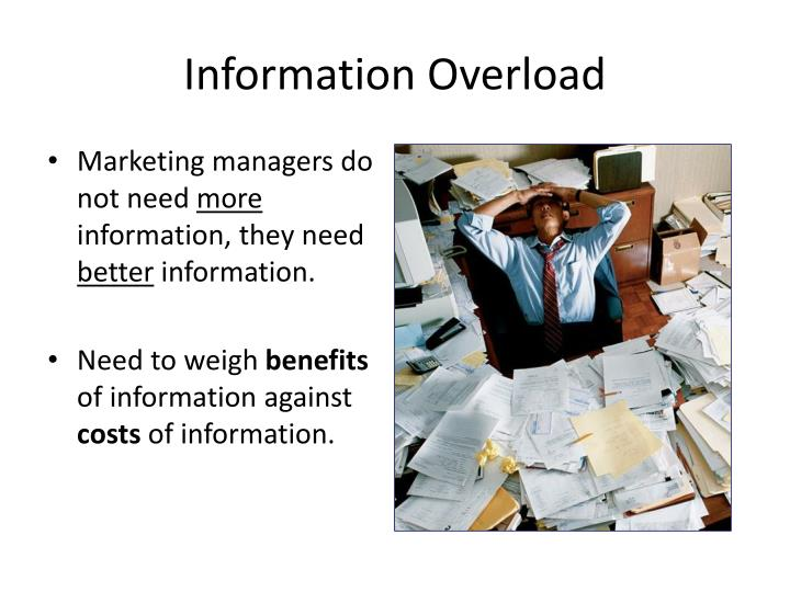 marketing information needs Meaning a marketing information system consist of people and procedure for assessing informational need internal database meaning assessing marketing information need.