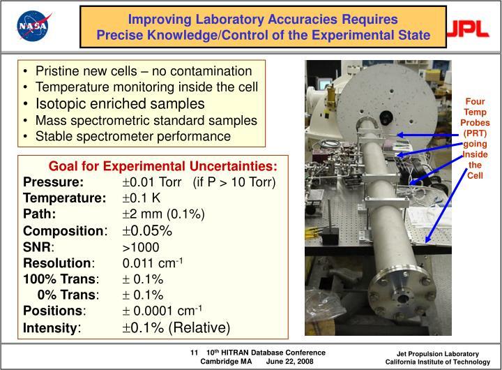 Improving Laboratory Accuracies Requires