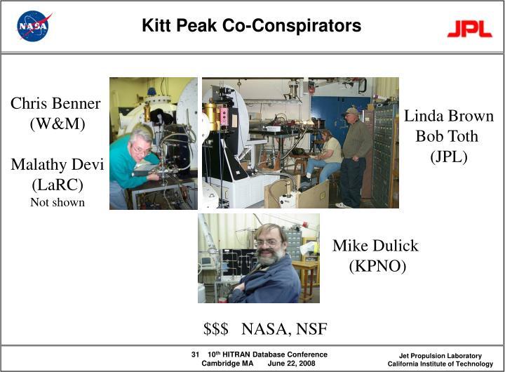 Kitt Peak Co-Conspirators