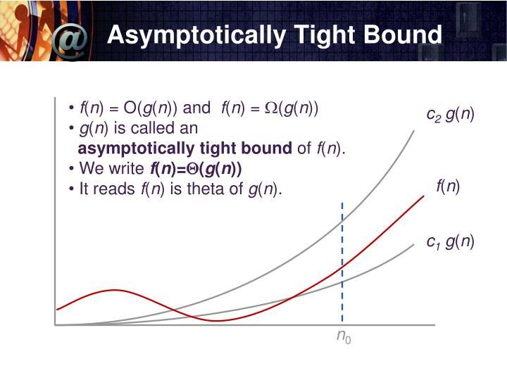Asymptotically Tight Bound