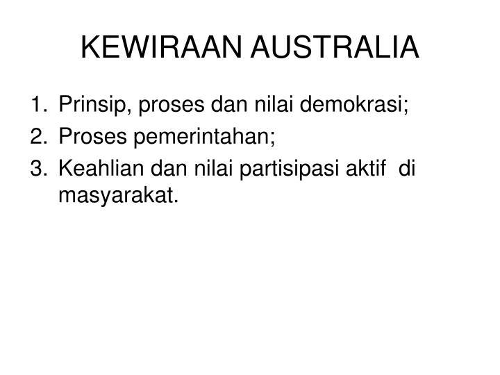 KEWIRAAN AUSTRALIA