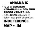 analisa ic