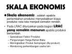 skala ekonomis