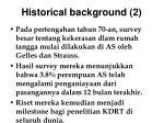 historical background 2