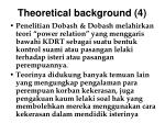 theoretical background 4