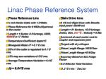 linac phase reference system