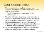 labor relations cont2