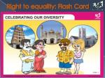 right to equality flash card