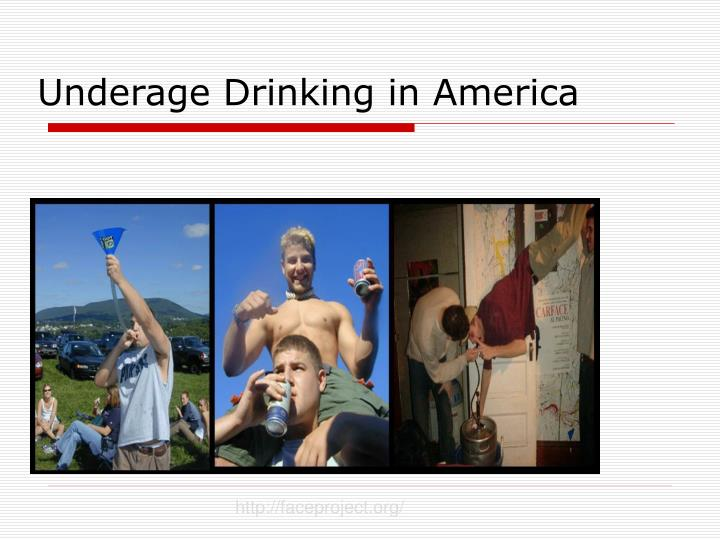 why america has so many problems with underage drinking Does the drinking age of 21 really benefit society evaluating the effectiveness of the it was clear why this initiative has gained so of underage drinking.