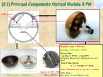 2 1 principal components optical module pm